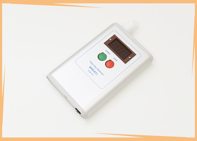「半個室」で口臭治療−口臭測定器を利用し、口臭の「原因」を突き止める!−